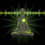 Do you listen to music while meditating?